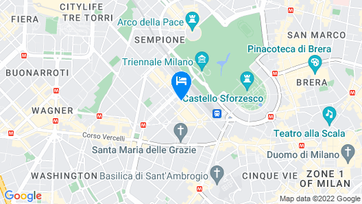 Italianway  - Vincenzo Monti 36 Map