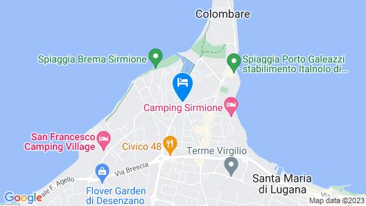 Hotel Porto Azzurro Map
