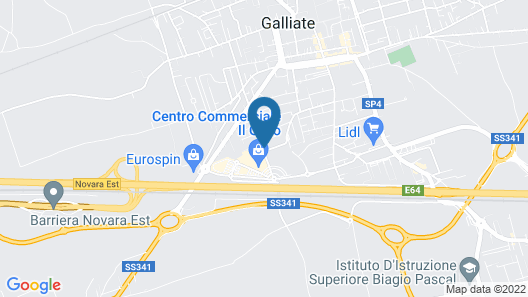 The Residence Galliate Map