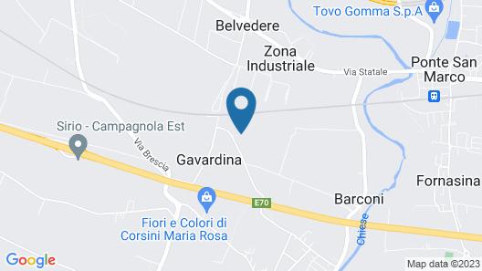 Cascina Serenella B&B Map