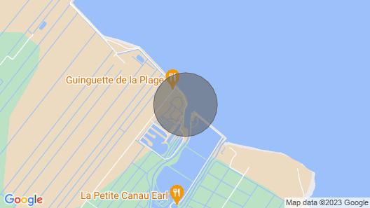 'La Pointe Pescade' : Cabane de Pêcheurs les pieds dans l'eau Map
