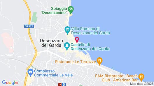 Hotel Vittorio Map