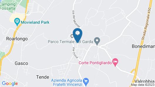 Residence Corte San Carlo Map