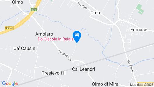 Do Ciacole in Relais Map