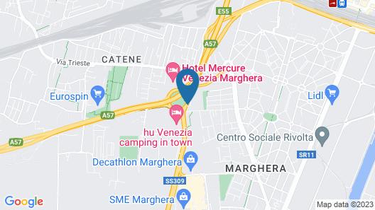 Holiday Inn Venice-Mestre Marghera Map