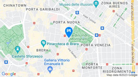 Hotel Manin Map