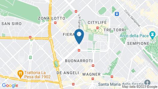 Hotel Campion Map