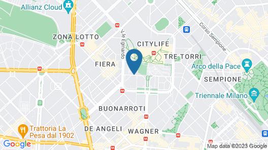 Hotel Fiera Congressi Map