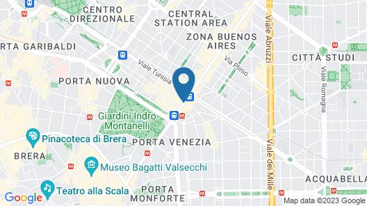 Worldhotel Cristoforo Colombo Map