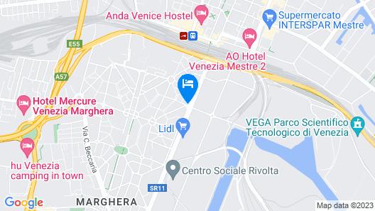 Hotel Villa Serena Map