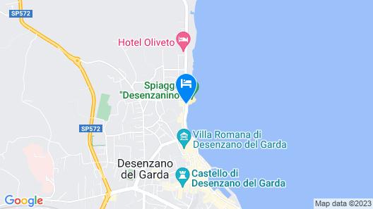 Villa Rosa Hotel Map