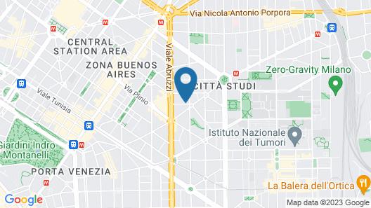 Vela Suites M Milano Centro con Garage Map