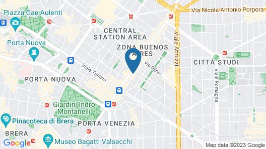 Starhotels Ritz Map