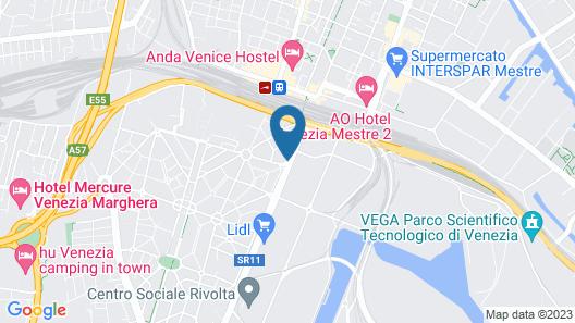 Hotel Autoespresso Map