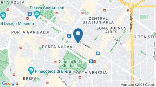 ibis Milano Centro Map