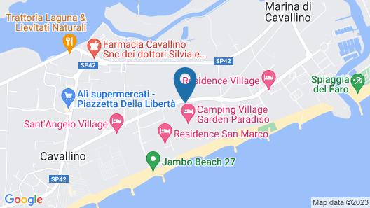 Camping Village Garden Paradiso Map