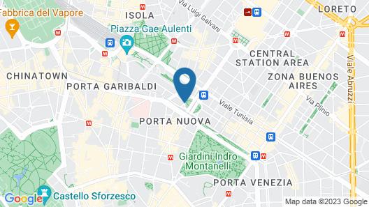 ME Milan - Il Duca Map