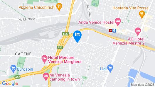 Antica Villa Graziella Hotel Map