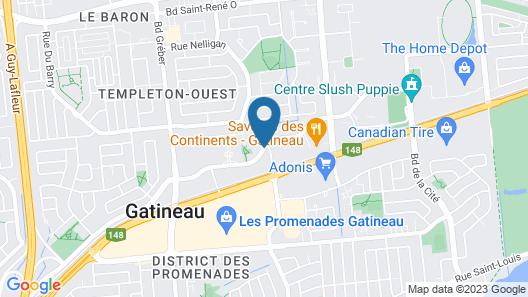 Hotel V Map