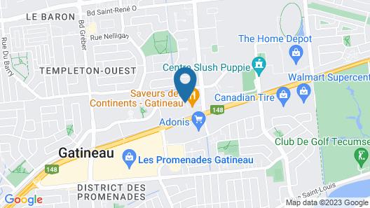 Holiday Inn Express & Suites - Gatineau - Ottawa, an IHG Hotel Map