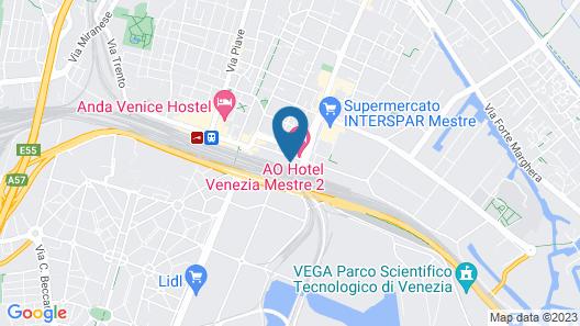 Staycity Aparthotels Venice Mestre Map