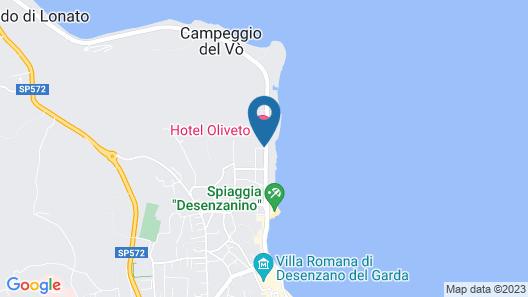 Hotel Oliveto Map