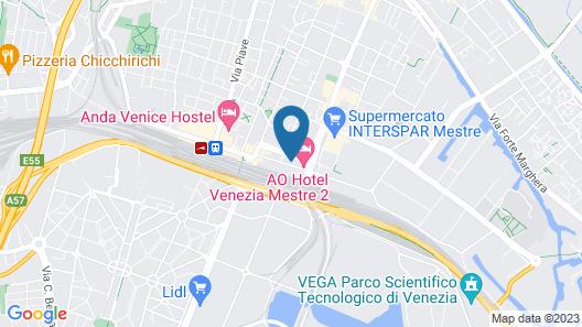 AO Hotel Venezia Mestre 2 Map
