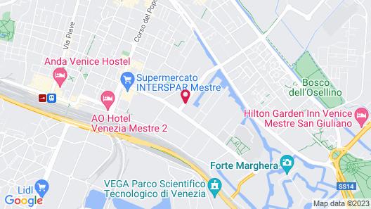 NH Venezia Laguna Palace Map