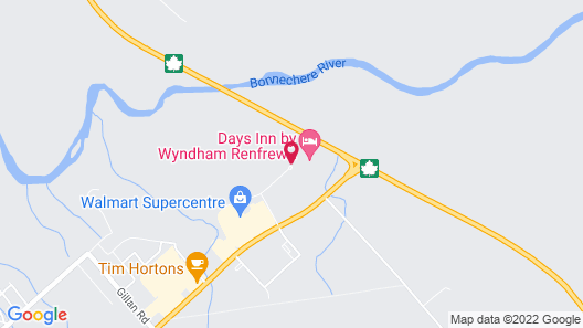 Days Inn & Conference Centre by Wyndham Renfrew Map