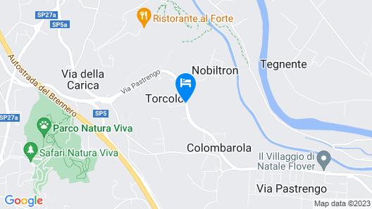 Hotel Centro Turistico Gardesano Map