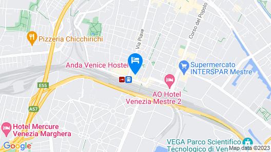 Best Western Hotel Tritone Map