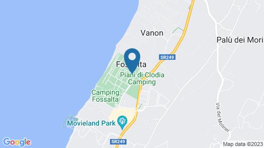 Piani di Clodia Map