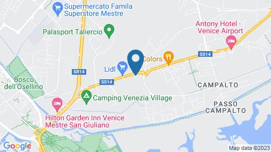 Camping Rialto Map