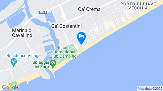 Hotel Pigalle Map