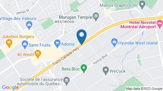 Hampton Inn & Suites by Hilton Montreal-Dorval Map