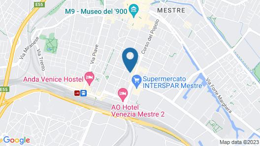 Hotel Vidale Map