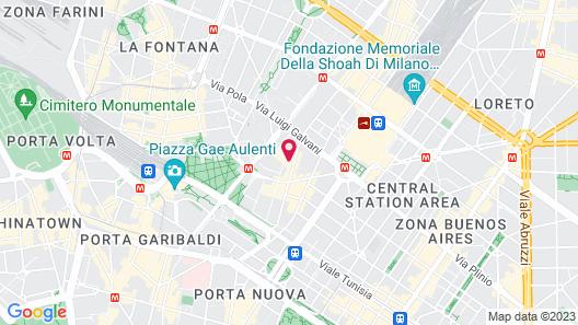 Four Points by Sheraton Milan Center Map