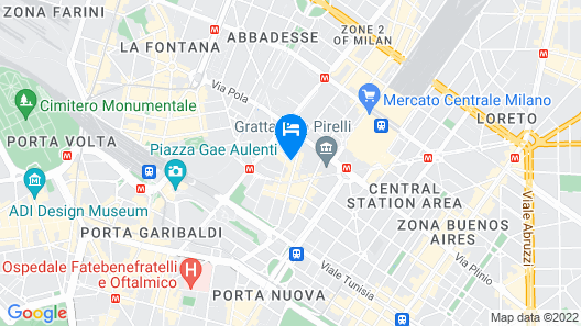 Four Points by Sheraton Milan Center Map