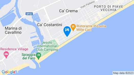 Hotel Derby Map