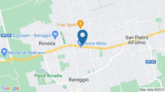 Hotel Novara Expo Map