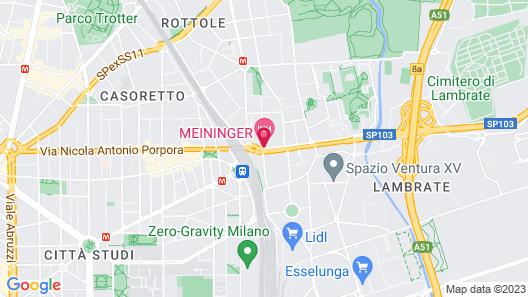 Meininger Milano Lambrate Map