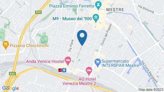 Venice Apartments Dante Map