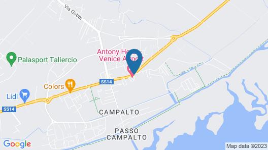 Antony Hotel Map