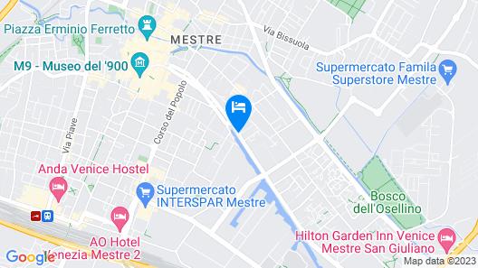 Elite Hotel Residence Map
