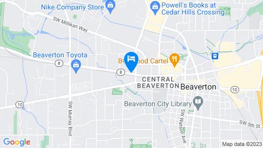 Comfort Inn & Suites Beaverton - Portland West Map