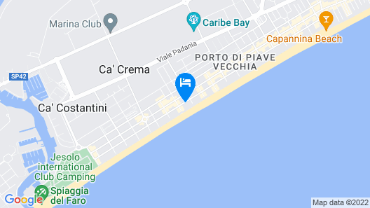 Hotel Anthony Map