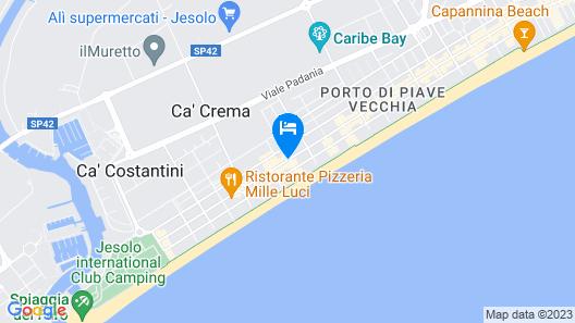 Hotel Amalfi Map