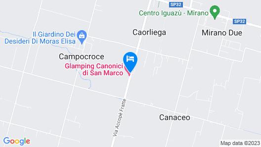 Glamping Canonici di San Marco Map
