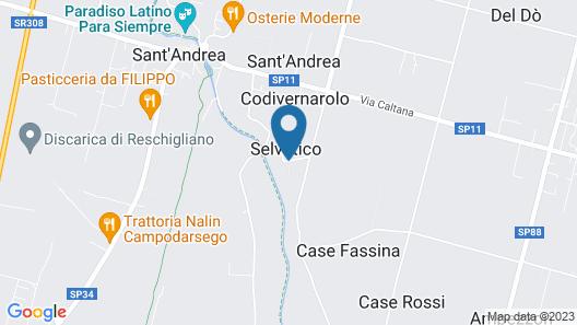 Agriturismo Villa Selvatico Map