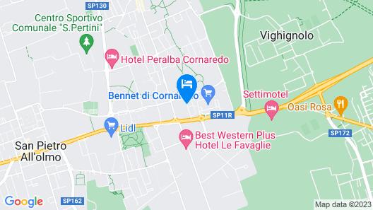 BnBook - Don Sturzo Cornaredo Map